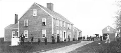 photo of The Wilbor House, Little Compton, 1876