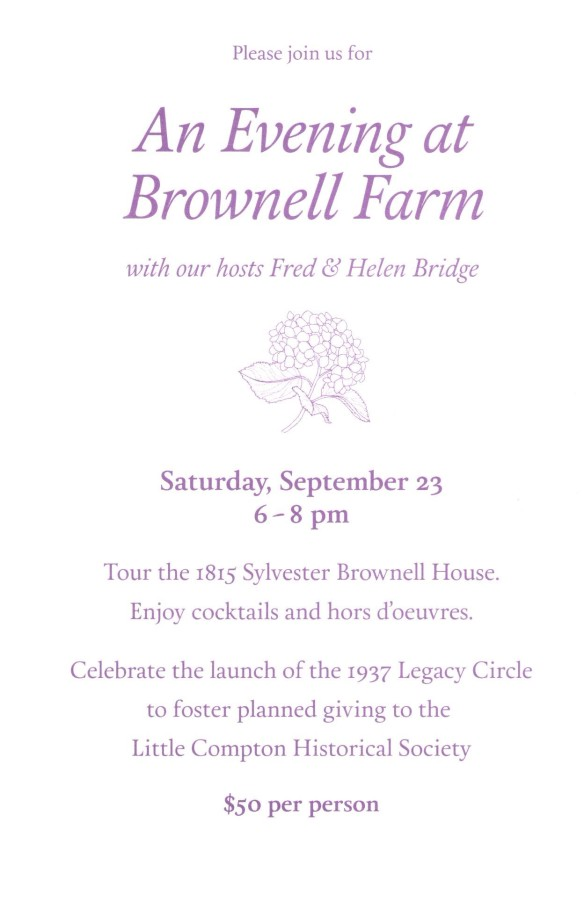 Brownell Farm Invite